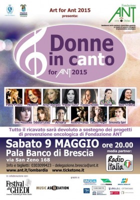 Locandina Donne in Canto