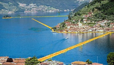 The Floating Piers rid