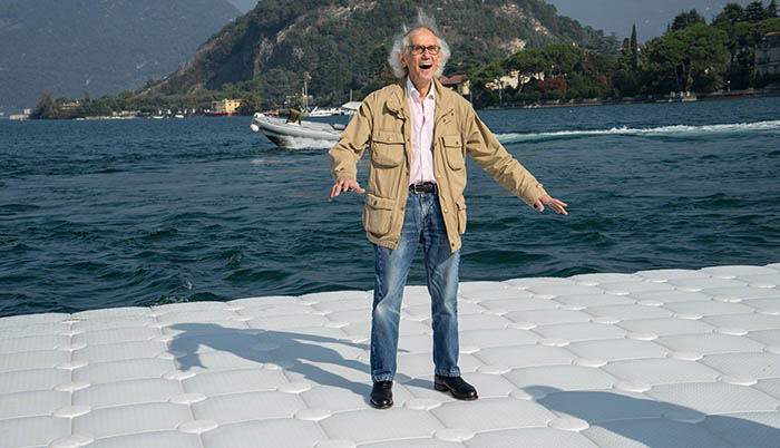 christo by Wolfgang Volz